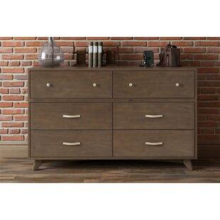 Otis 6-Drawer Dresser by Novogratz