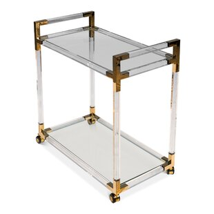 Kay Trolley Bar Cart by Everly Quinn
