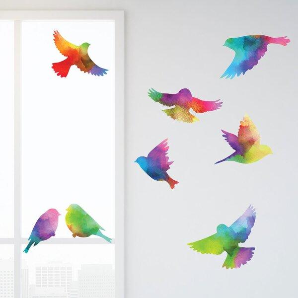 window decoration door decoration Bird room decoration with  a blue bird Luck charm hanging decoration