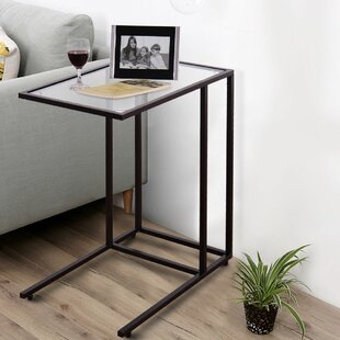 Tahani End Table by Wrought St..
