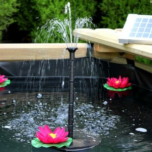 Solar Fountain By Sol 72 Outdoor