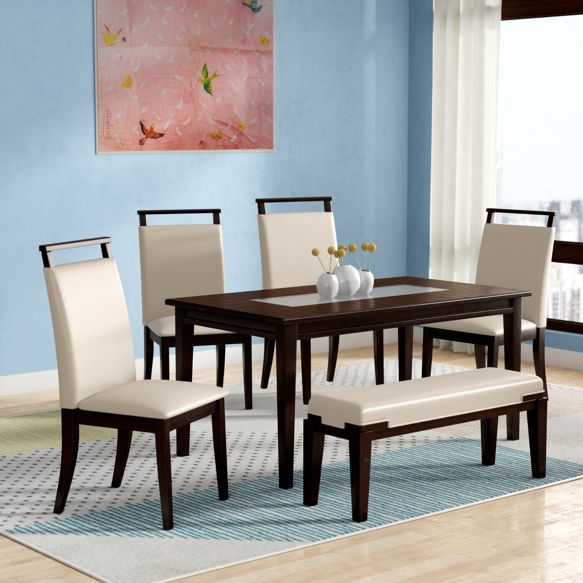 Delicieux Depew 6 Piece Dining Set
