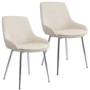 Cortes Upholstered Dining Chair (Set of 2) by Ivy Bronx
