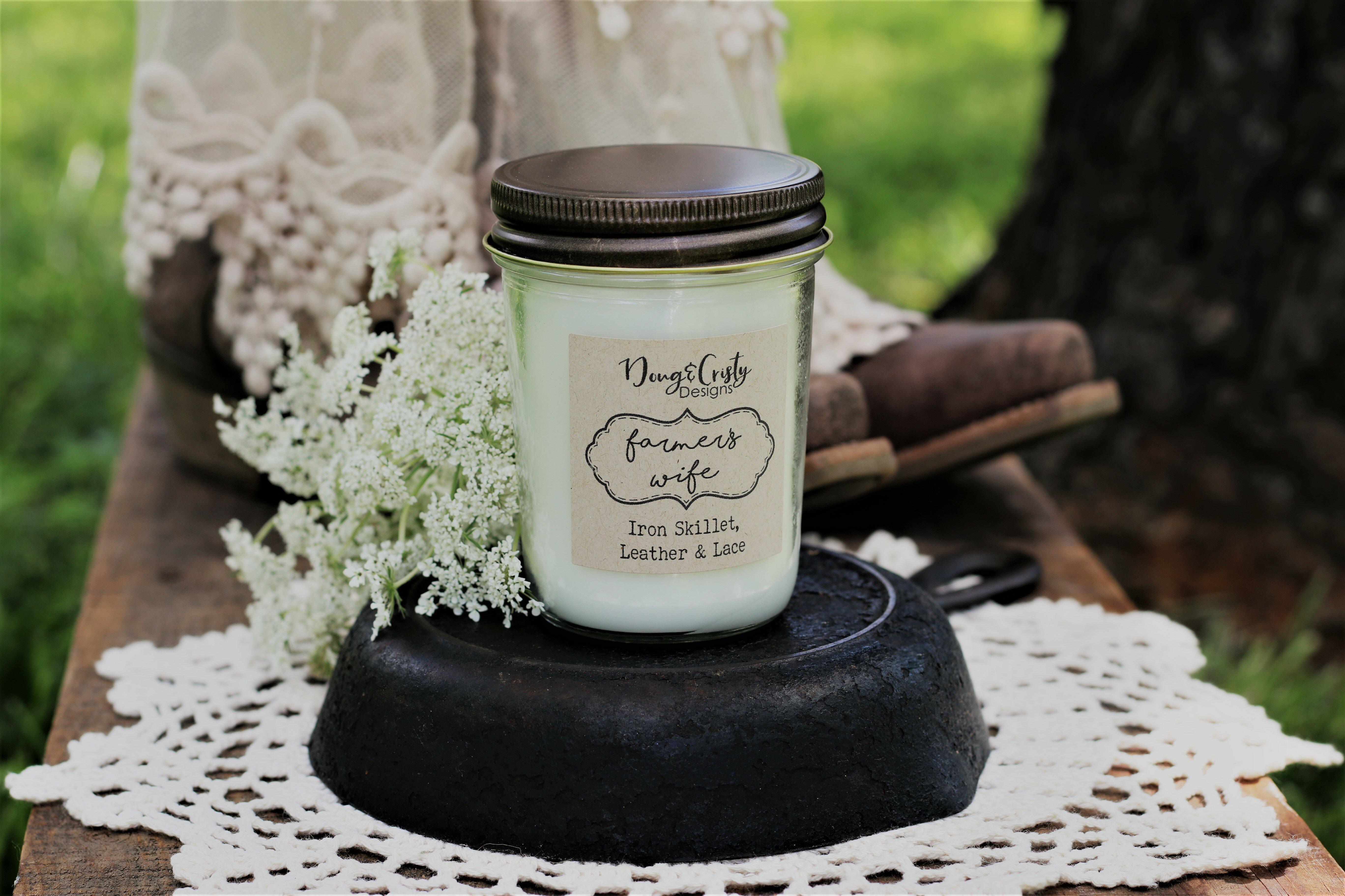 Dougandcristydesigns Farmers Wife Scented Jar Candle Wayfair