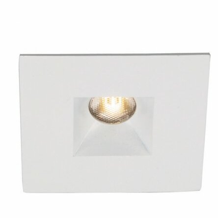 Wac Lighting Miniature Downlight Open Reflector Square 1 25 Led Recessed Trim Wayfair Ca