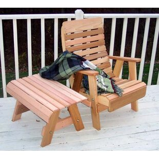 Cedar 2 Piece Conversation Set by Creekvine Designs