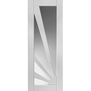 Aurora Solid Glazed MDF Slab Internal Door by JB Kind Doors