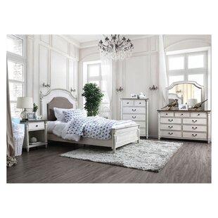 Alexandru Hesperia Queen 4 Piece Bedroom Set by August Grove