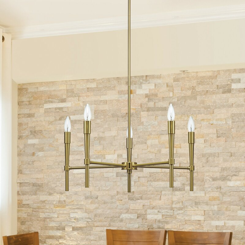 Elena 5 Light Chandelier Reviews Joss Main