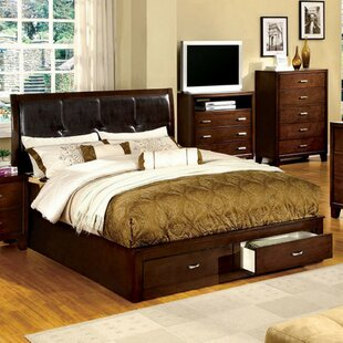 Collette Upholstered Storage Platform Bed