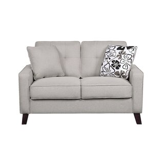 Bargain Aiken Loveseat by Ebern Designs Reviews (2019) & Buyer's Guide