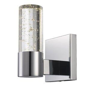 Hake 1-Light LED Armed Sconce by Ebern Designs
