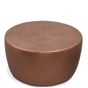 Ayman Drum Coffee Table By World Menagerie