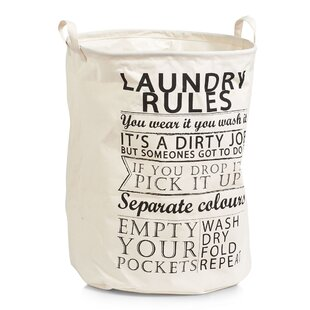 Laundry Rules Laundry Bag By Zeller