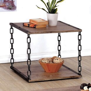Boerner End Table by Williston Forge