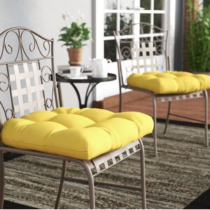Claiborne Outdoor Dining Chair Cushion (Set of 2)