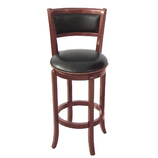 Vinyl 30 Swivel Bar Stool Wildon Home®