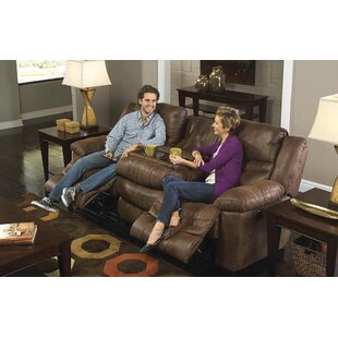 Catnapper Valiant Reclining Sofa with Drop Down Table