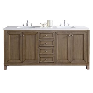 Northampton 72 Double Bathroom Vanity Set james martin furniture | wayfair