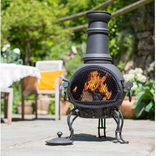 Philip Steel Chiminea By Sol 72 Outdoor
