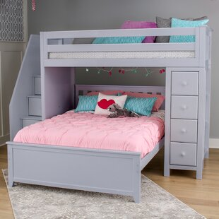 Reviews Ayres L-Shaped Bunk Bed with Drawers ByHarriet Bee