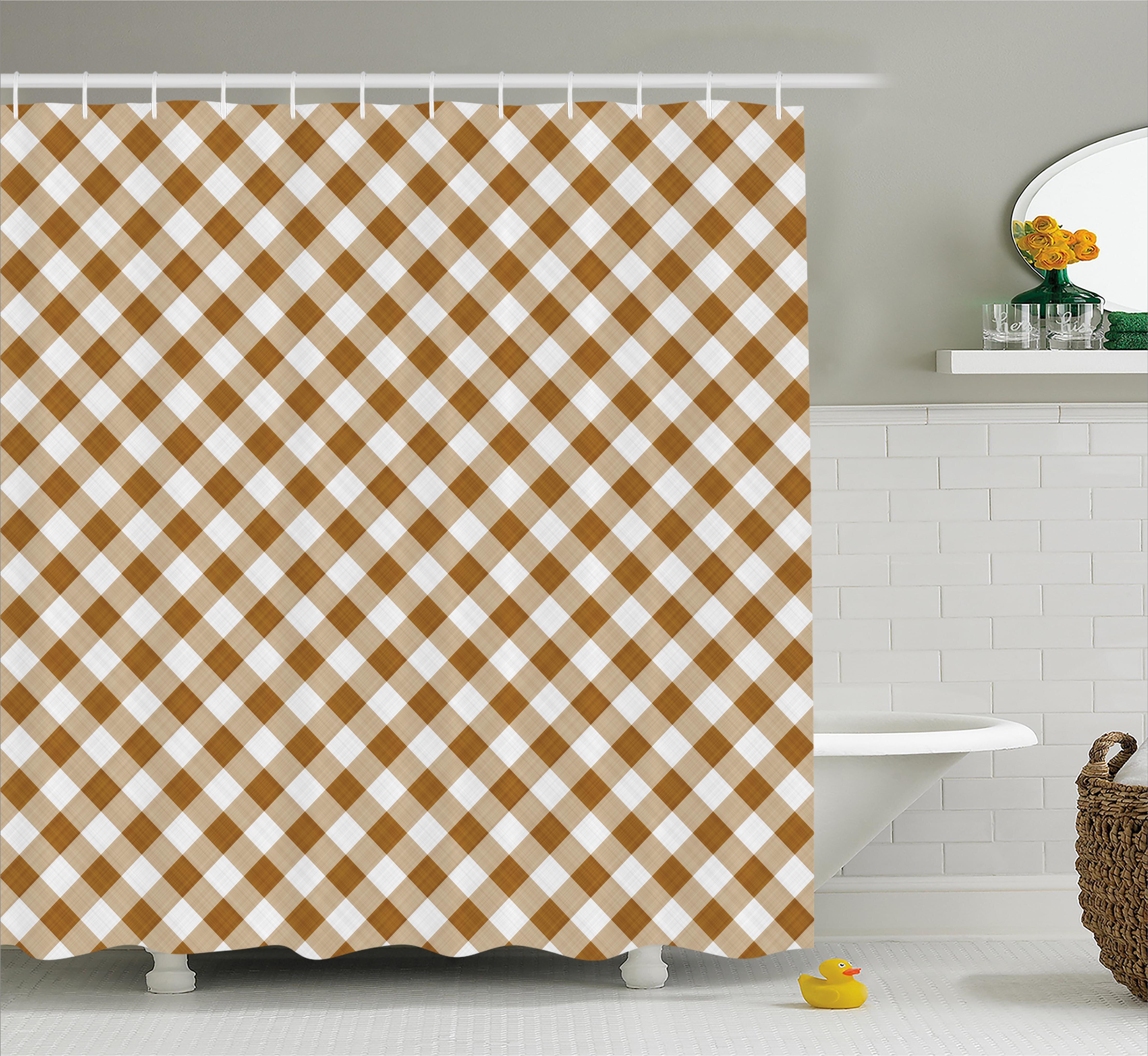 August Grove Burnabbie Cloth Pattern Geometric Shower Curtain