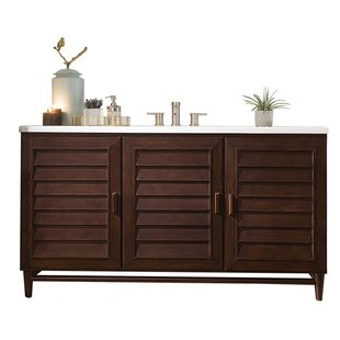 Portland 60 Single Bathroom Vanity Base by James Martin Furniture