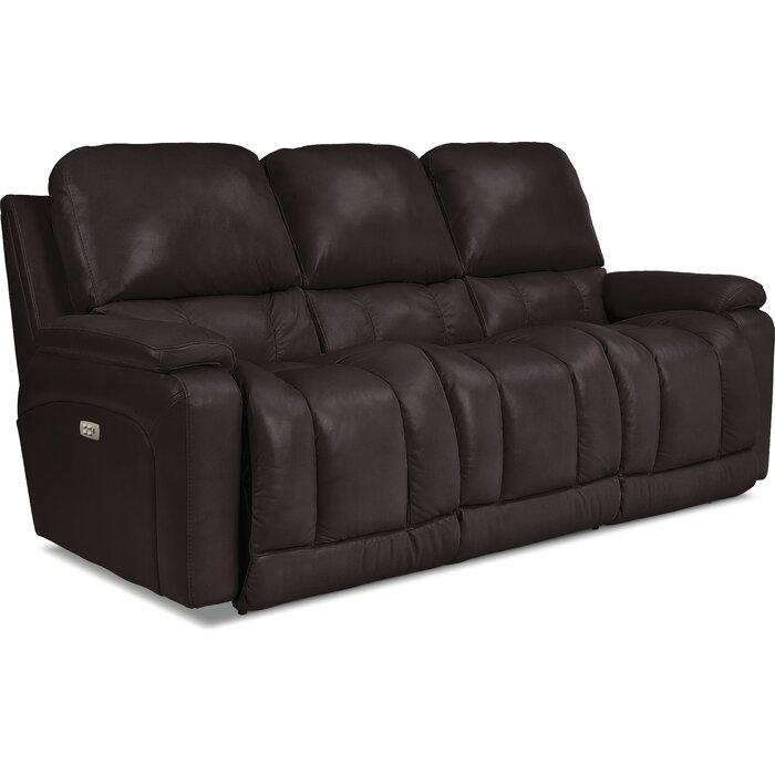 Wondrous Greyson Leather Reclining Sofa Machost Co Dining Chair Design Ideas Machostcouk