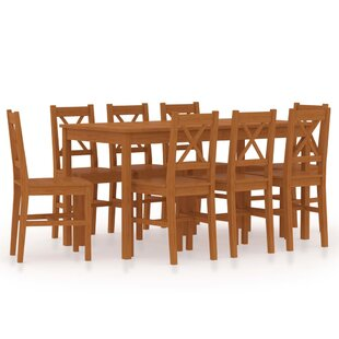 Mcmahon Dining Set With 8 Chairs By August Grove