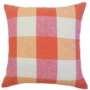 Amory Plaid Throw Pillow