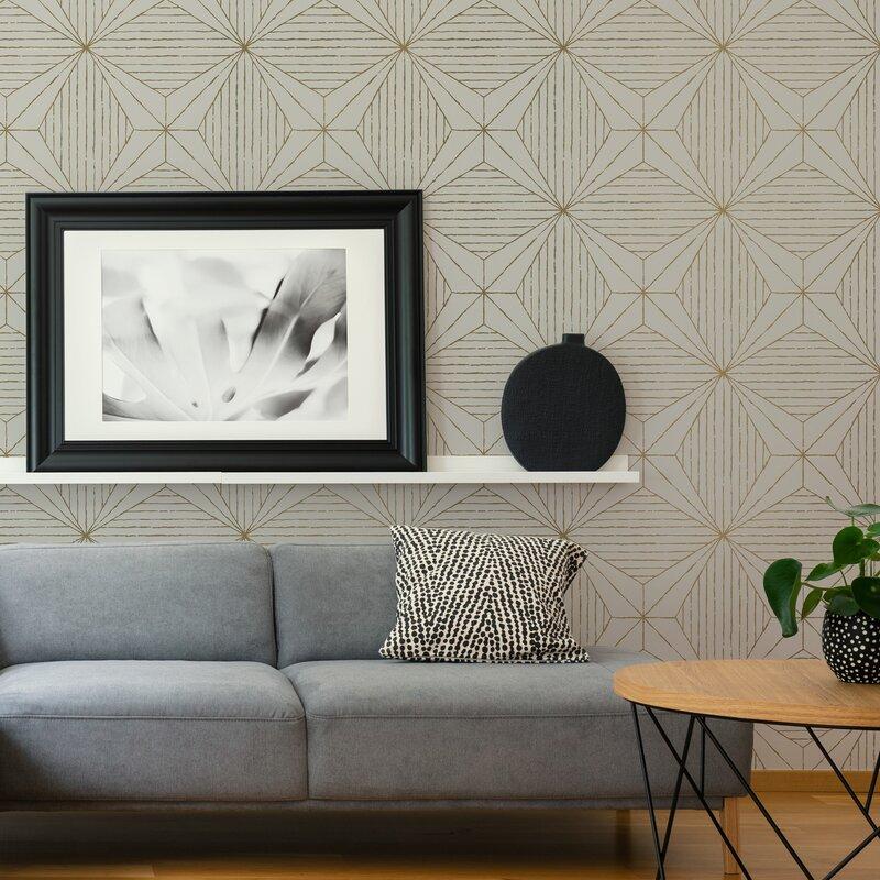 Scott Living 18 L X 20 5 W Peel And Stick Wallpaper Roll Wayfair