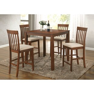 Yearby 5 Piece Dining Set Alcott Hill
