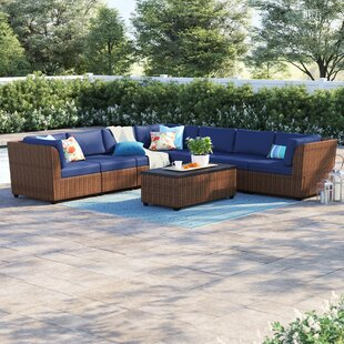 Waterbury 8 Piece Sectional Set with Cushions