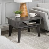 Alcaraz End Table with Storage by 17 Stories