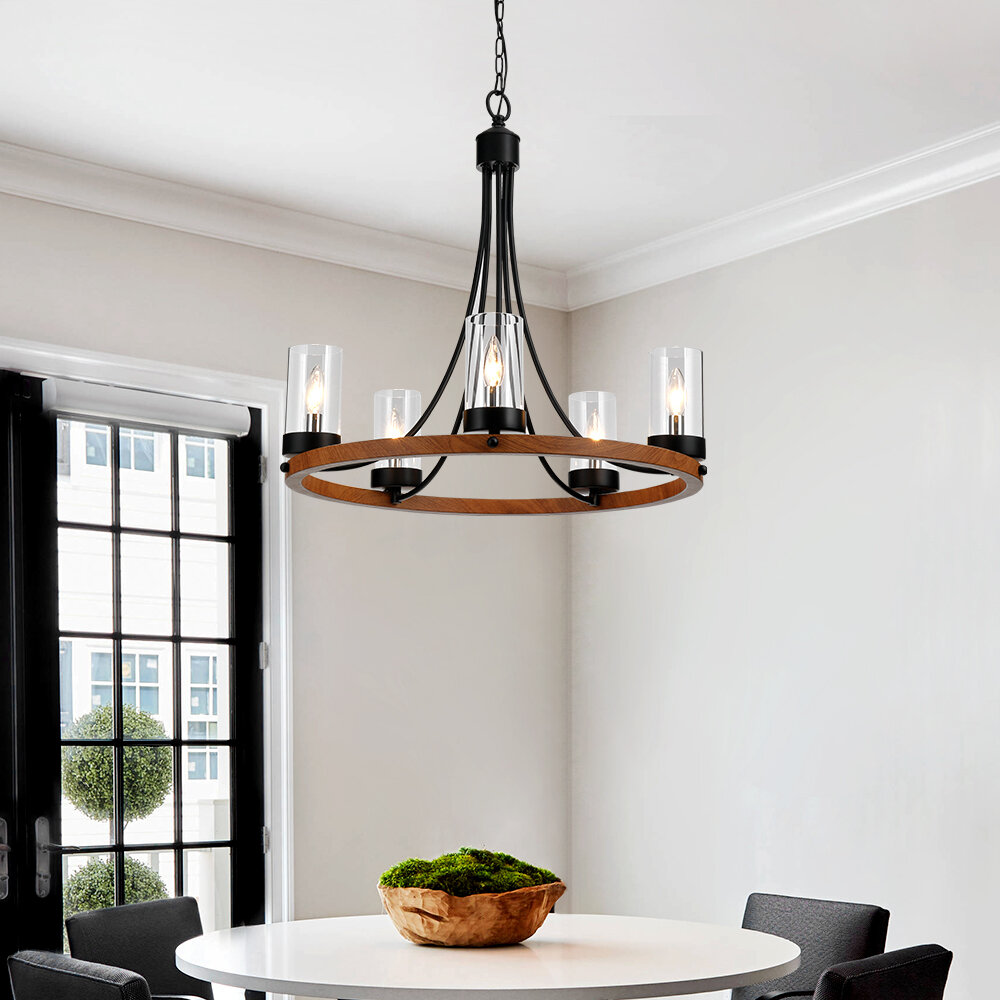 Farmhouse Chandelier Free Shipping Over 35 Wayfair