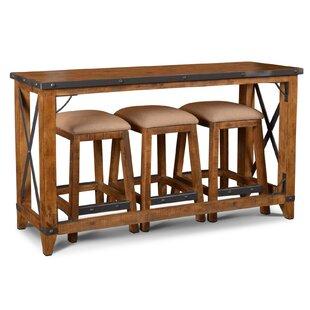 Bridgeman 4 Piece Pub Table Set (Set of 4)