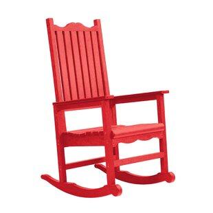 Beachcrest Home Alanna Porch Rocking Chair