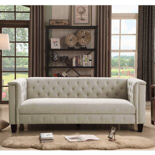 Check Prices Broughtonville Chesterfield Sofa by Willa Arlo Interiors Reviews (2019) & Buyer's Guide