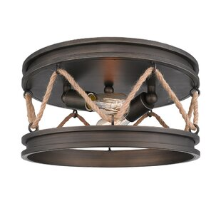 Longfellow 2-Light Flush Mount