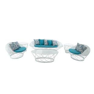 Almohades 6 Piece Sofa Set with Cushions