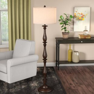 the best attitude adb56 620bd Light Blue Floor Lamp | Wayfair