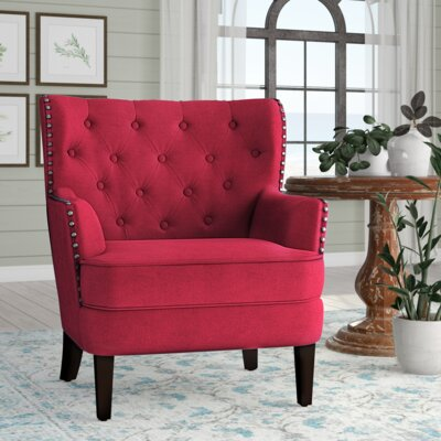 Red Accent Chairs   Joss & Main