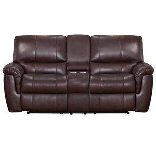 World Menagerie Deverell Leather Reclinin..
