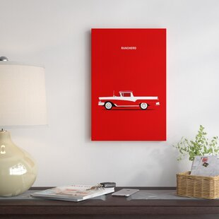 '1957 Ford Ranchero' Graphic Art Print on Canvas By East Urban Home