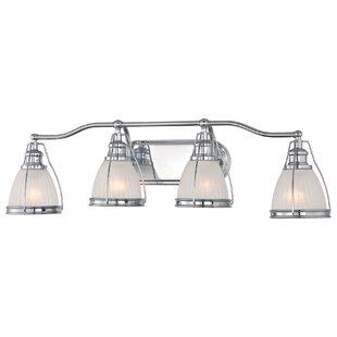 Best Reviews Stonington 4-Light Vanity Light By Alcott Hill