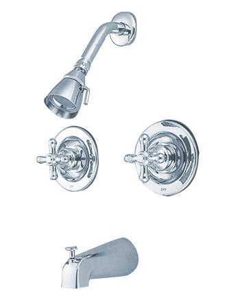 Kingston Brass Vintage Tub And Shower Faucet Reviews Wayfair