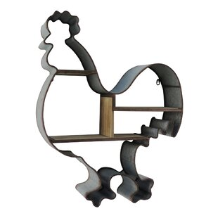 Cheungs Metal Frame Chicken Shaped Shelf