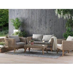 Elbeni 4 Seater Sofa Set By Sol 72 Outdoor