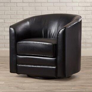 Morefield Swivel Barrel Chair