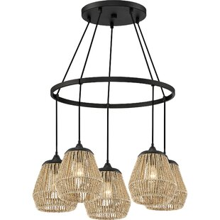 Bay Isle Home Trace 5-Light Novelty Chandelier